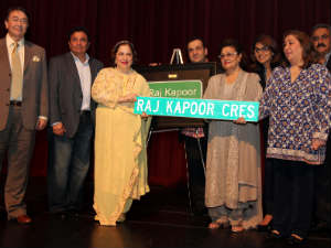 The legendary Raj Kapoor is looming large over Toronto in the Year of India in Canada.