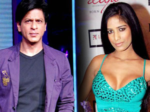 Shahrukh Khan and Poonam Pandey
