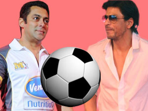 ShahrukhKhan and Salman Khan