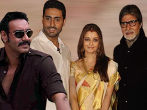 Ajay Devgan and Bachchan Family