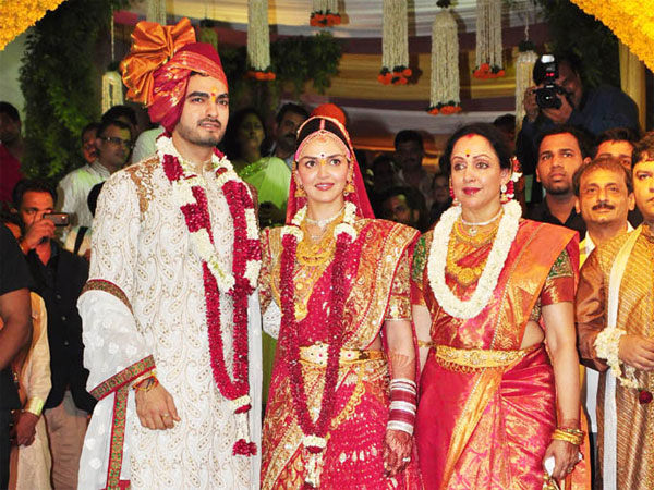 Esha Deol and Bharat Takhtani Wedding