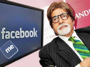 Amitabh Bachchan opened his Facebook account