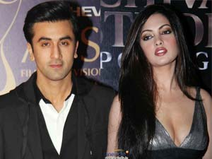 Ranbir Kapoor new crush Riya Sen