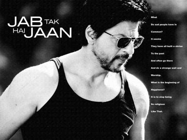 Shahrukh Khan playing double role in Jab Tak Hai Jaan
