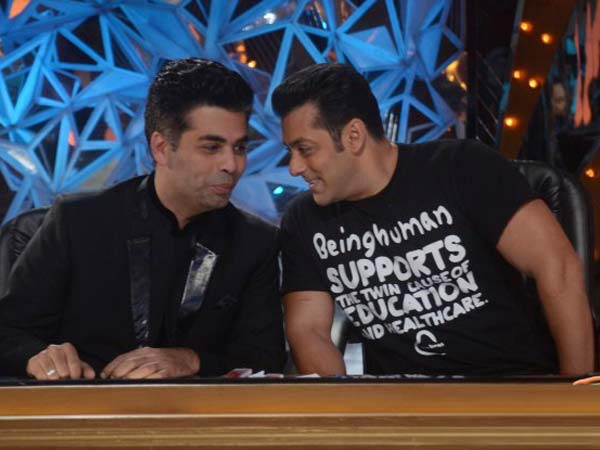 Salman Khan in Bigg Boss accepted that he is working with Karan Johar