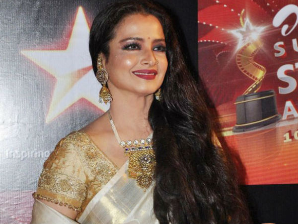 Rekha in Rajya Sabha for first time during the monsoon session.