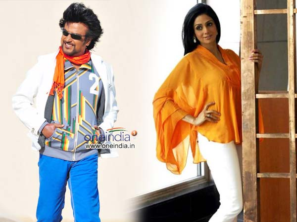 Sridevi and Rajnikanth both hit in Japan