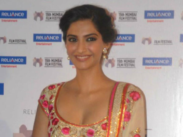 Is Sonam Kapoor watching movies to improve her acting?