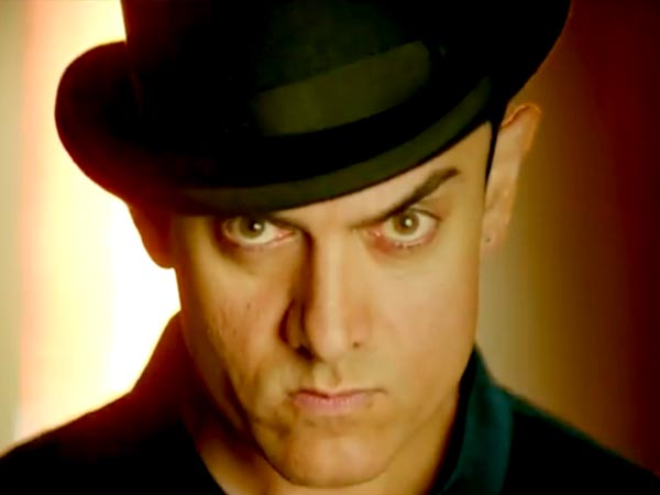 Aamir Khan is Playing a double role in the upcoming action thriller Dhoom