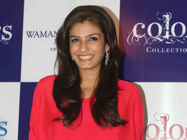 Raveena Tandon doesn't like this monkey business