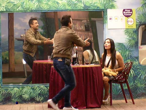 Bigg Boss 7- Sofia called Ajaz unmanly