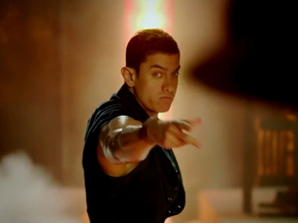 Aamir Khan learnt tap dance for dhoom 3