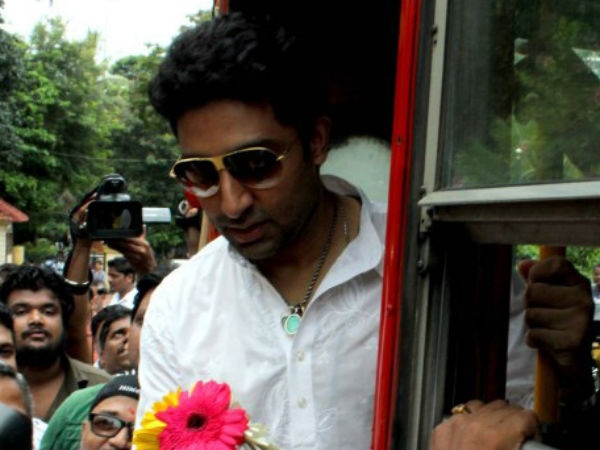 I've never watched 'Sholay' on big screen: Abhishek Bachchan