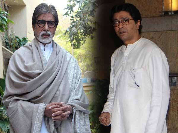 Raj Thackeray, Amitabh Bachchan share dias in Mumbai, end 5-year tiff