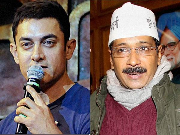 Moved by Arvind Kejriwal, Bollywood actor Aamir Khan to join AAP?