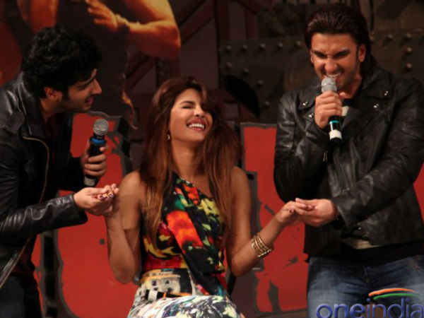 Gunday is the Film of Priyanka Chopra not Deepika Padukone said Ranveer Singh