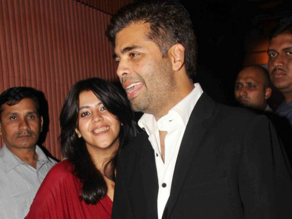 TV Queen Ekta Kapoor dating with me, its a big joke, says Karan Johar.