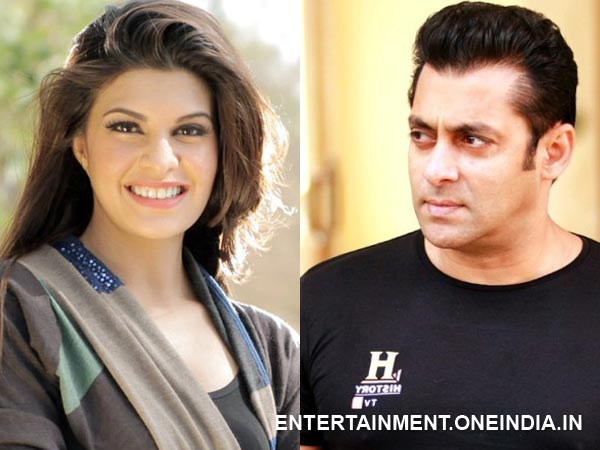 Salman Khan Getting Too Close To Jacqueline Fernandez?
