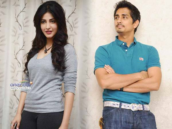 Birthday Girl Shruti Hassan liked 'Rang De Basanti' actor Siddharth