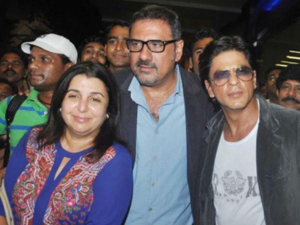 No Fun without Shahrukh Khan in Happy New Year Shoot said fans on Twitter.