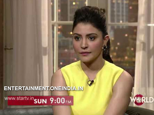 Anushka Sharma spotted with fuller lips on Koffee With Karan