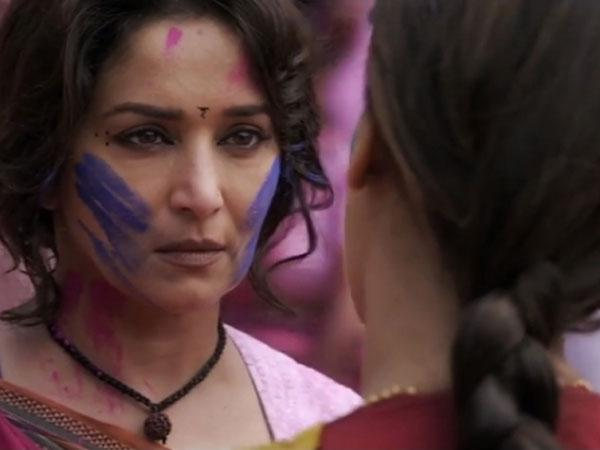Madhuri Dixit, Juhi Chawla shares 'electric' scenes in 'Gulaab Gang'