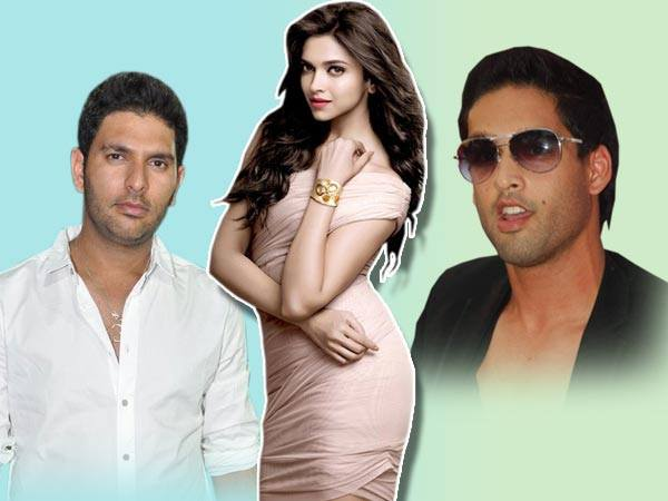What a Coincidence: Yuvraj Singh, Deepika Padukone and Siddharth Mallya in RCB