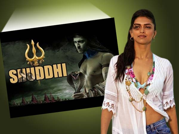 Deepika Padukone not yet offered Shuddhi movie