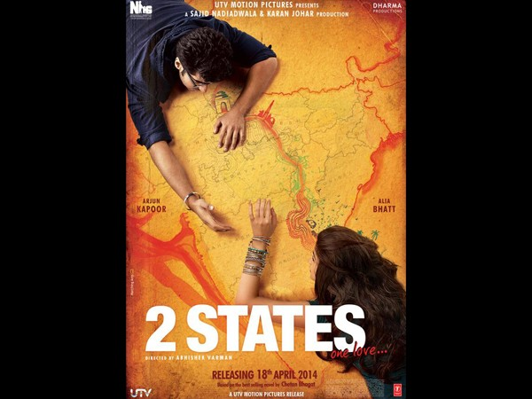 First Look Of 2 States is very Impressive and Interesting
