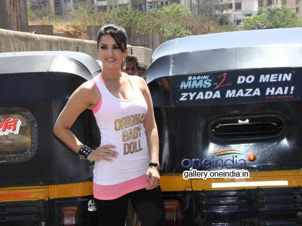 Sunny Leone fears of mosquito