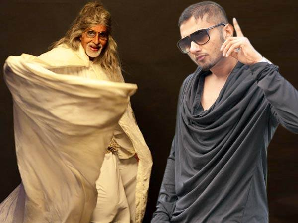 Shooting with Amitabh Bachchan made me feel old: Honey Singh
