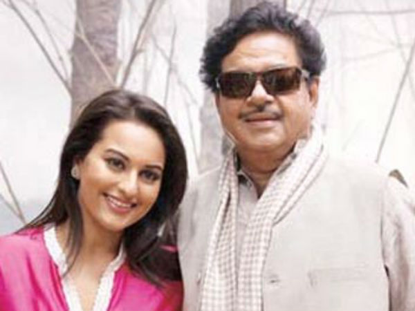Sonakshi Sinha is not Part of her Papa Shatrughan Sinha's election campaigns