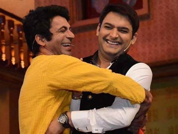 If Sunil Grover is back in Kapil's Comedy Nights With Kapil show. People happy