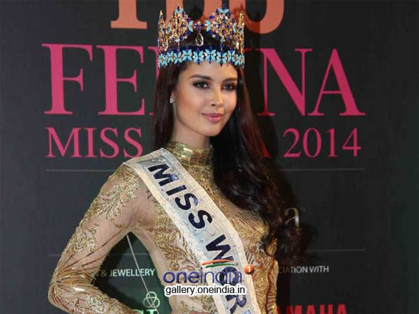 Koyal Rana won Femina Miss India 2014 contest