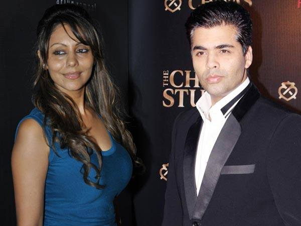 Gauri designs Karan Johar's home; amidst rumours of fallout with Shahrukh Khan