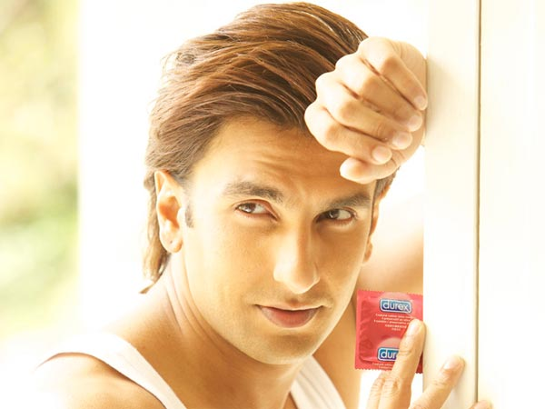 Ranveer Singh energy makes him perfect for condom brand