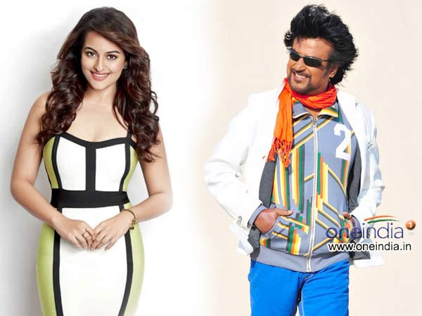 Sonakshi Sinha to do her South Debut with Rajinikanth