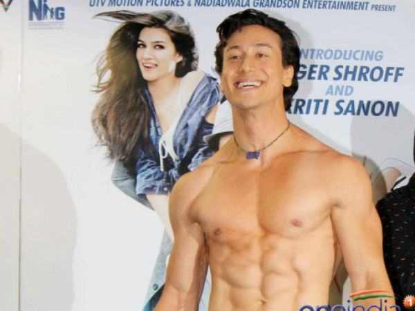 Tiger Shroff Hit on Twitter before Heropanti