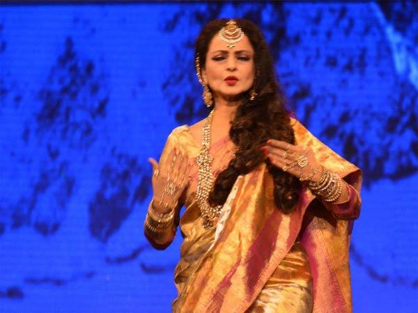 Film industry was not my choice: Rekha