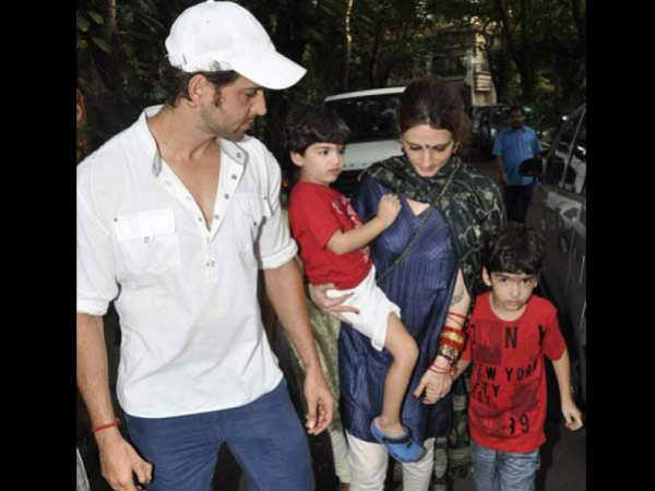 Hrithik Roshan holidays with sons Hrehaan, Hridhaan in Disneyland