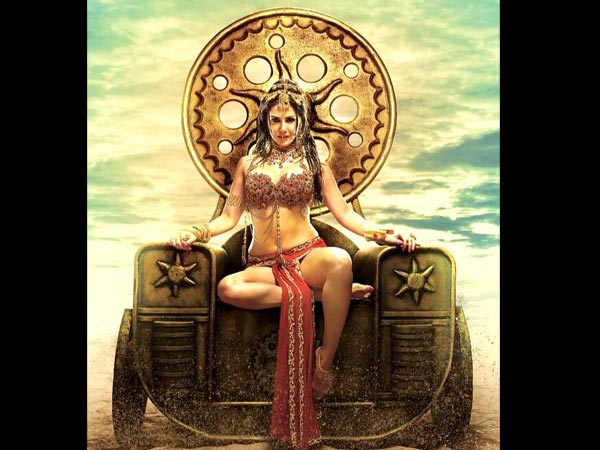 Sunny Leone looks breathtaking as the royal princess in 'Leela' poster