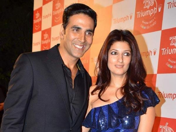 My Sweet Wife Twinkle Khanna is very lucky for me said Akshay Kumar