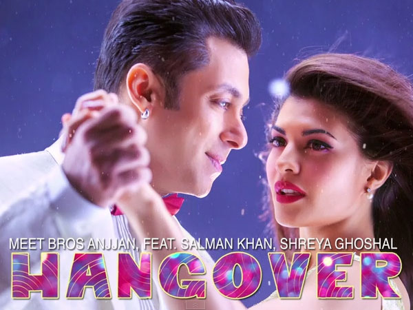 Salman Khan replaces Sonu Nigam in 'Hangover' song