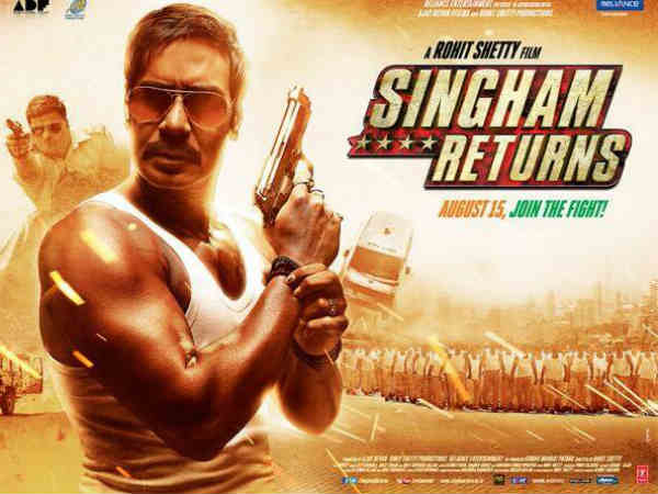 Rohit Shetty gave 4 stars to Singham Returns
