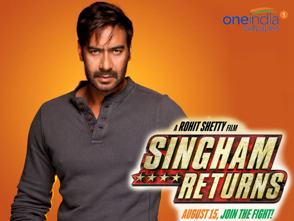 'Singham Returns' is tribute to nation: Ajay Devgn