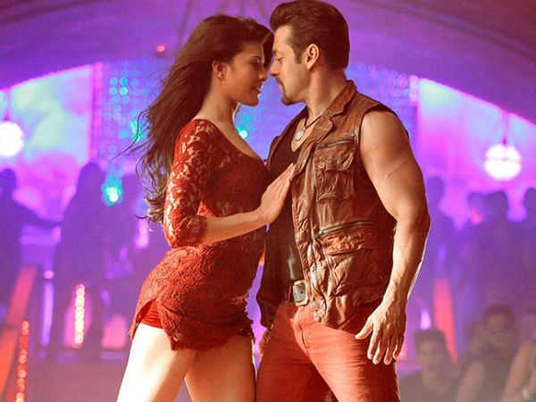 OMG! Has Salman Khan kissed Jacqueline in 'Kick'?