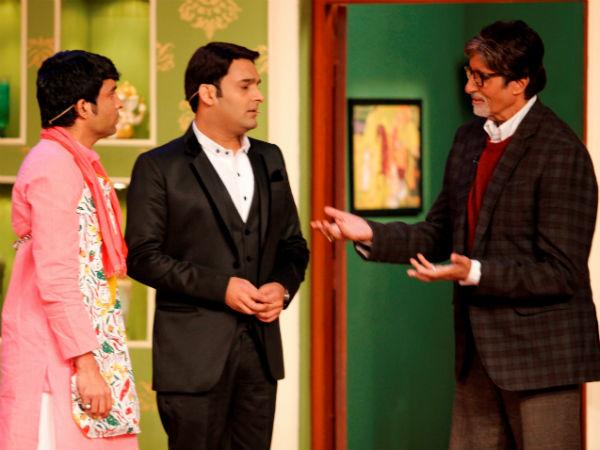 Kapil Sharma is Amitabh Bachchan's first guest on KBC 8