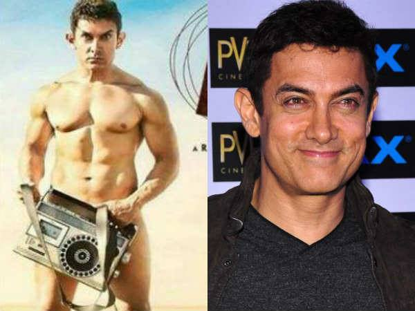 Aamir Khan goes completely nude in PK poster, Fans Shocked?