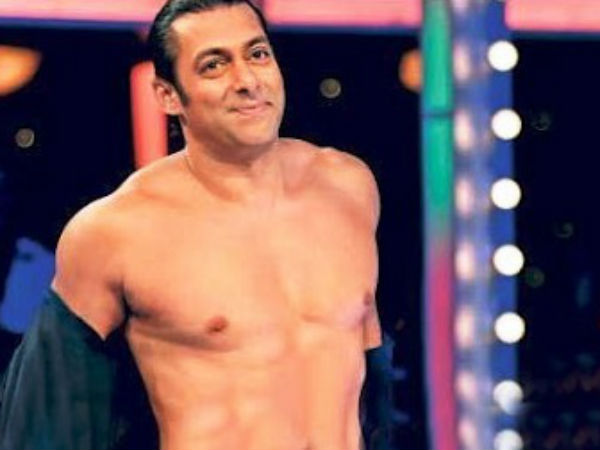 Kick Hero Salman Khan loves his Topless Image