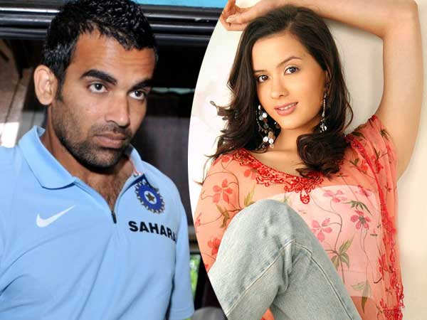 Birthday Boy Zaheer Khan had an affair with Dancing beauty Isha Shervani